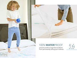SafeRest Twin Extra long  Xl  Premium Hypoallergenic Waterproof Mattress Protector   Vinyl Free