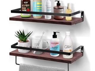 Amada Home Furnishing   Floating Shelves   Model AMFS04