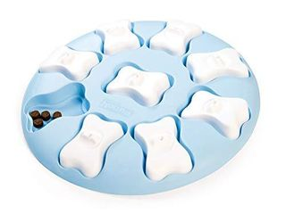 Outward Hound Nina Ottosson Puppy Smart Blue Interactive Treat Puzzle Dog Toy