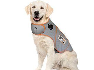 Thundershirt Sport Dog Anxiety Jacket   Vet Recommended Calming Solution Vest for Fireworks  Thunder  Travel  Separation   Platinum  X large