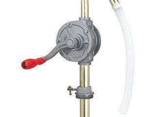 lumax Gray lX 1318 Rotary Barrel Pump for transferring Non Corrosive  Petroleum Based  light to Medium Viscosity like  Motor  Heavy  Transmission Fluid  Heating Oils