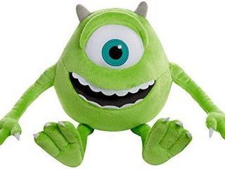 Mattel  Disney Pixar  Monsters  Inc  Mike Wazowski Plush  multi