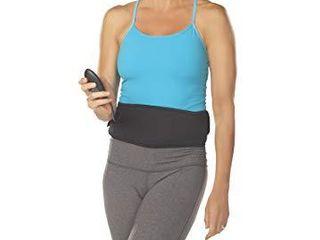 The Flex Belt Abdominal Muscle Toner   Black  24 47