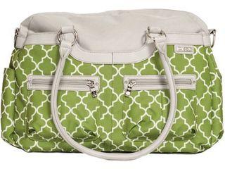 JJ Cole Canvas Satchel Bag   Green Arbor