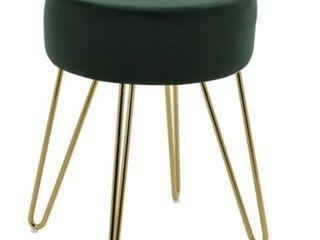 Best Master Furniture Velvet Footstool
