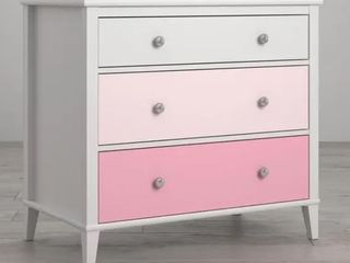 little Seeds Monarch Hill Poppy White 3 Drawer Dresser