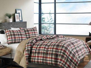 Eddie Bauer Astoria Down Alt 3 piece Comforter Set  Retail 95 92 Queen Full