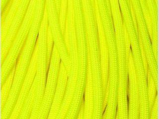 USA Made 550 Para  Cord 100 Feet  Yellow  Pack of 5