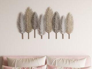 Elwyn Metal leaf Wall Decor