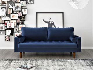 luis Mid Century Modern3 Seater Sofa