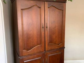 Nice large Walnut Colored Armoire