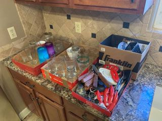 kitchen glass lot