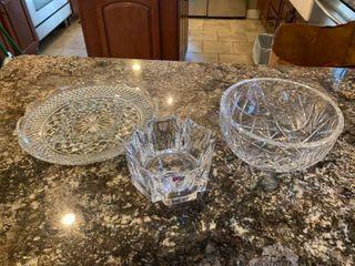 Cut Glass   Crystal lot
