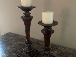 Nice Pair Of Candle Holders