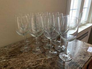 Set Of 13 Wine Glasses