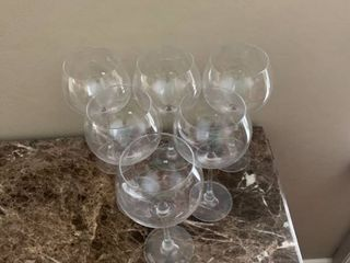 Set Of 6 Kirkland Wine Glasses