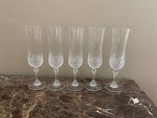 Waterford Crystal Set Of 5 Toasting Glasses