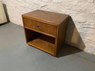 Drexel Oak End Table
