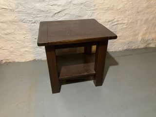 Pottery Barn Solid End Table