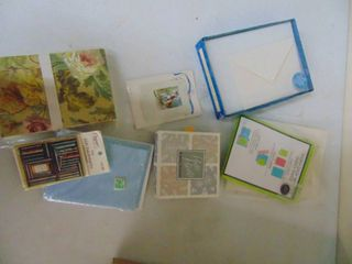Miscellaneous Card Stock and assorted cards