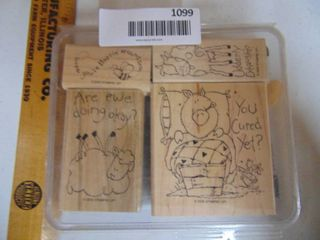 Stampin Up   Farm Fever   4 of 4 Stamps