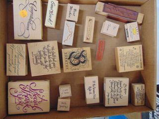Miscellaneous Rubber Stamps 14