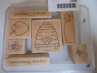 Stampin Up   Just Buzzin Bye   7 of 8 stamps