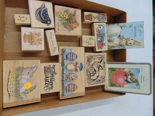 Miscellaneous Easter Rubber Stamps 12