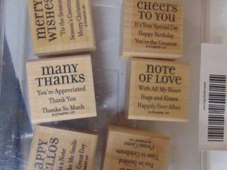 Stampin Up   lots of Thoughts   6 of 6 stamps