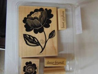 Stampin up   Bella Blossoms   5 of 5 Stamps