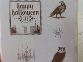 Stampin Up   Dark and Dreary   Unopened