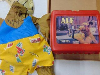 Alf and Alf lunchbox