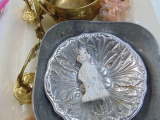 Silver Bowls   Candle Sconces and More