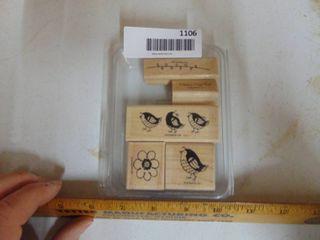 Stampin Up   Bird Set of Stamps