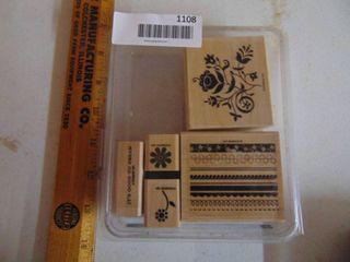Stampin Up   Razzle Dazzle   5 Stamps