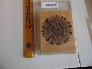 Stampin Up   Sunflower Stamp