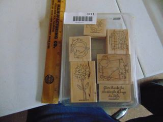 Stampin Up   Give Thanks   6 Stamps