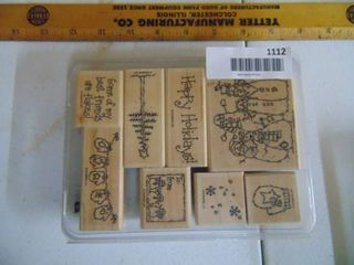 Stampin Up   Flaky Friends   8 Stamps