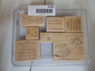 Stampin Up   if the Halo Fits   7 of 7 Stamps