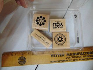 Stampin Up   Wow Flowers   4 of 4 Stamps