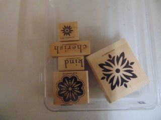 Stampin Up   Baroque Motifs   5 of 6 Stamps