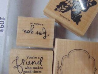Stampin Up   Great Friend   4 of 5 Stamps