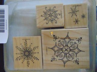 Stampin Up   Serene Snowflakes   Complete