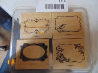 Stampin Up   Four Frames   Complete