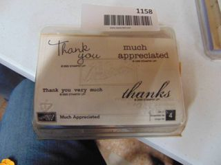 Stampin Up   Much Appreciated   Complete