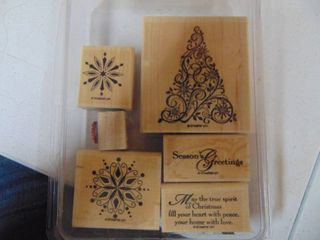 Stampin Up   Snow Swirled   Complete