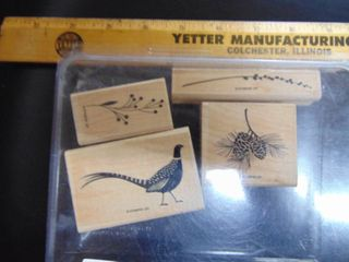 Stampin Up   Autumn Days   4 of 6 Stamps