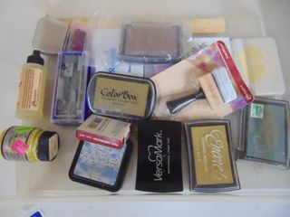 10  Ink Pads and Miscellaneous Stampers