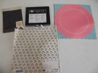 Adhesive sheets and assorted Scrap Book Paper