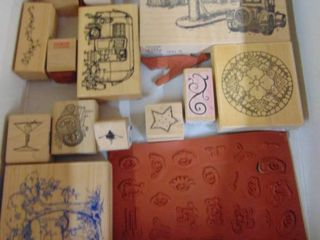 Miscellaneous Rubber Stamp lot 15